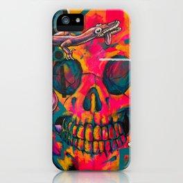 ROSE CRÂNE #1 iPhone Case
