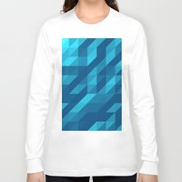 polygon Long Sleeve T-shirts featuring Polygon Five by Jambot