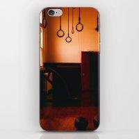 gym iPhone & iPod Skins featuring Gym by Flashbax Twenty Three