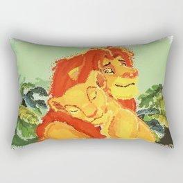 Simba and Nala Rectangular Pillow