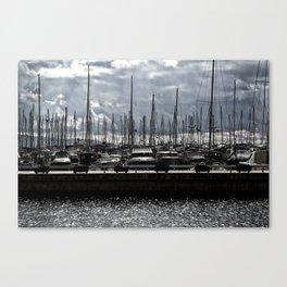 bodrum d-marin Canvas Print