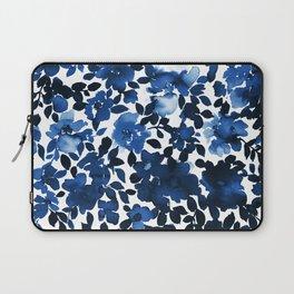 Sophia Floral Blue Laptop Sleeve