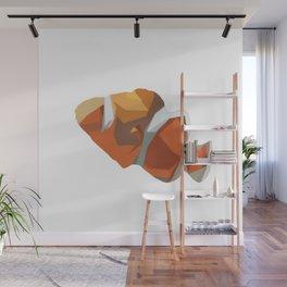 Geometric Clownfish Wall Mural
