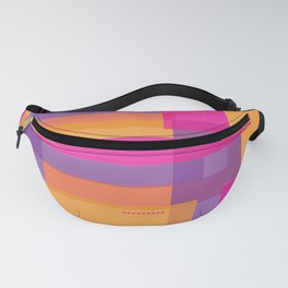 Abstract rectangles Fanny Pack
