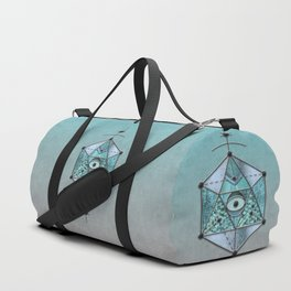 Sacred Geometry Eye Of Protection Duffle Bag