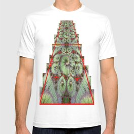 Escargot Begonias Abstract T-shirt