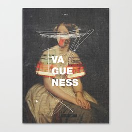 Vagueness Canvas Print