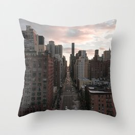 2nd Avenue Throw Pillow