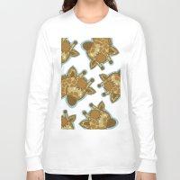 giraffes Long Sleeve T-shirts featuring Giraffes by BerryT