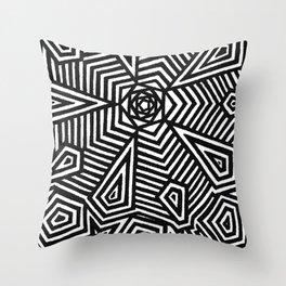 Five Throw Pillow