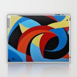 Abstract n.1 - Dancing. Everything Dissolve Laptop & iPad Skin