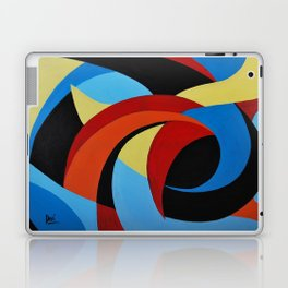 Abstract n.1 - Dancing. Everything Dissolve Laptop & iPad Skin