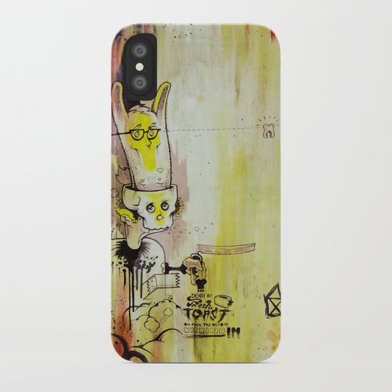 Deathy By Fresh Toast iPhone Case