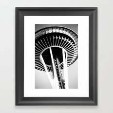 Seattle Space Needle Framed Art Print