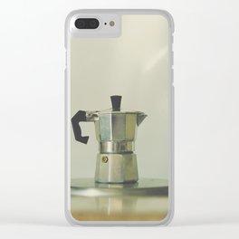 Italian moka pot. Clear iPhone Case