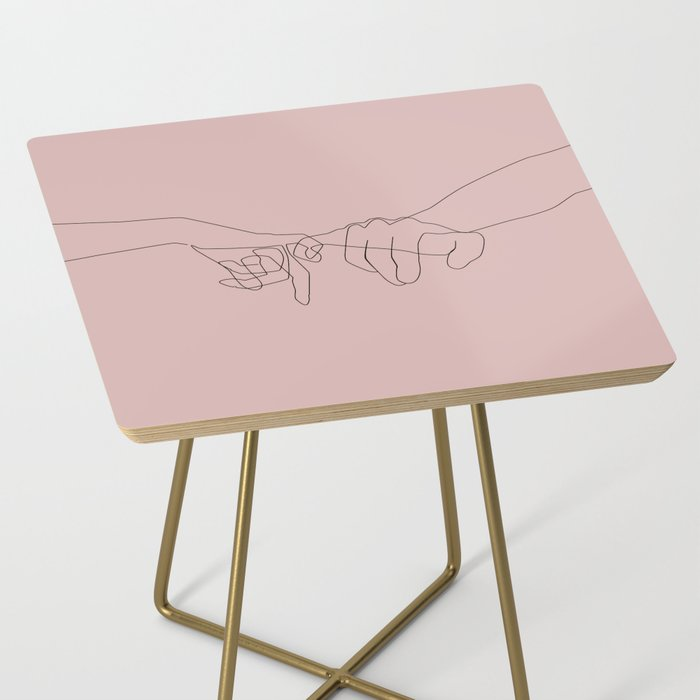 Blush Pinky Side Table