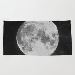 The Moon Beach Towel