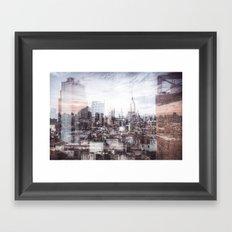 A Layered Empire Framed Art Print