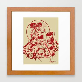 PUFF'n Framed Art Print