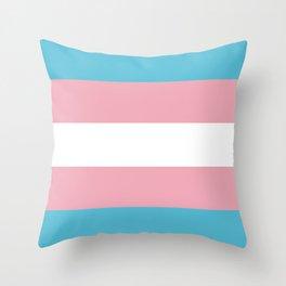 Trans Pride Throw Pillow