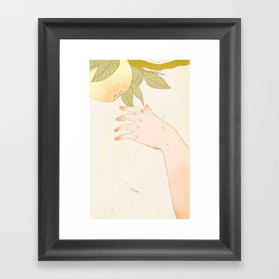 Reach version 1 Framed Art Print
