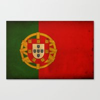 portugal Canvas Prints featuring Portugal by NicoWriter