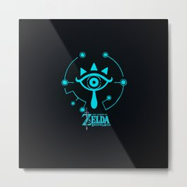 ZELDA -BREATH of the WILD Metal Print