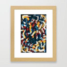 Pattern № 45 Framed Art Print