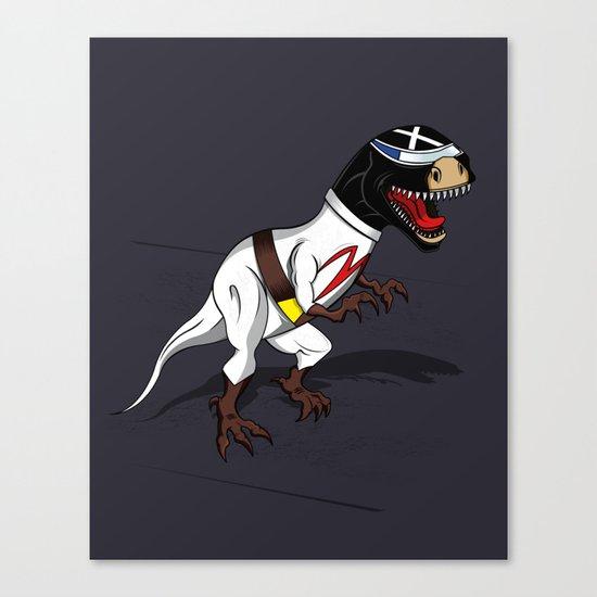 T-Rex (The X Roarcer) Canvas Print