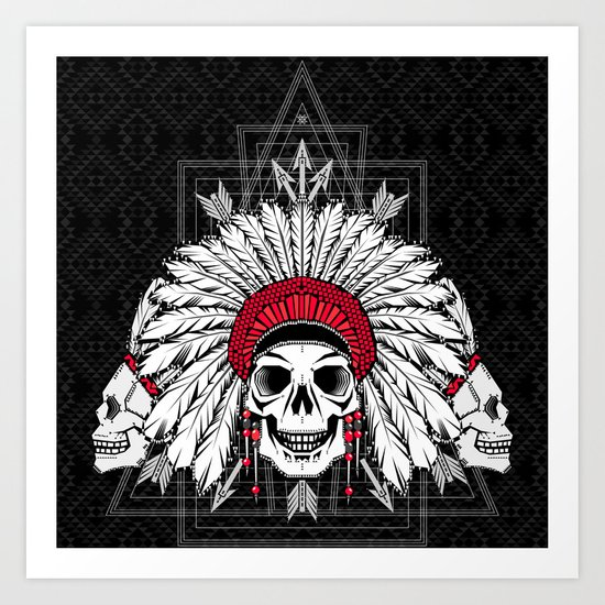 Southern Death Cult Art Print