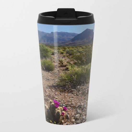 Painted Desert - V Metal Travel Mug