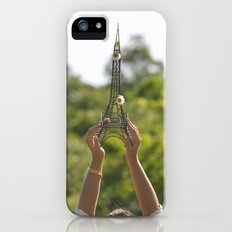 The World On My Shoulders iPhone (5, 5s) Slim Case