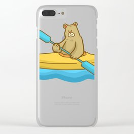 Kayak Canoe Canoe Gift Canoes kayaker Clear iPhone Case