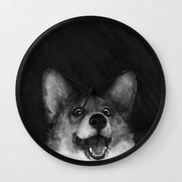 Sausage Fox Wall Clock