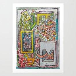 Grafitti 8 Art Print