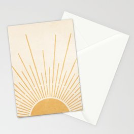 Sun #5 Yellow Stationery Cards