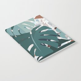leaves+terrazzo Notebook