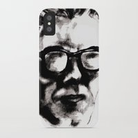 beethoven iPhone & iPod Cases featuring Hipster Beethoven by Hurtin Albertan