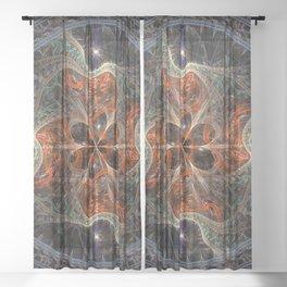 Meditation Mandala Sheer Curtain