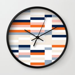 Connecting lines 2. Wall Clock