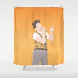 Life Moves Pretty Fast (Ferris Bueller) Shower Curtain