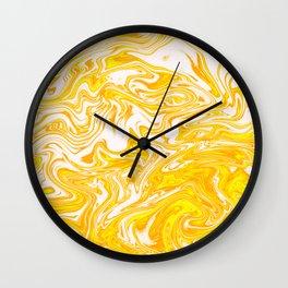 Marbled XXII Wall Clock