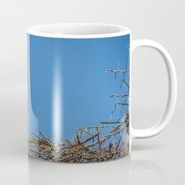 Nesting Stork  in Rabat Coffee Mug