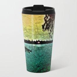 :: Lake View :: Metal Travel Mug