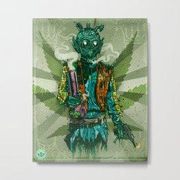 Weedo Metal Print