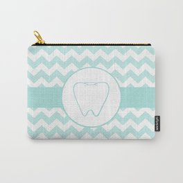 Chevron Tooth Carry-All Pouch