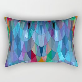 The Many Colors of the Mermaid.... Rectangular Pillow