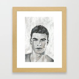 YANG meaning MAN Framed Art Print