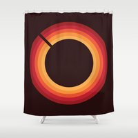 70s Shower Curtains featuring  70s: Valhalla Vintage Verb by Valhalla DSP