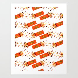 Fall Diet Plan Art Print